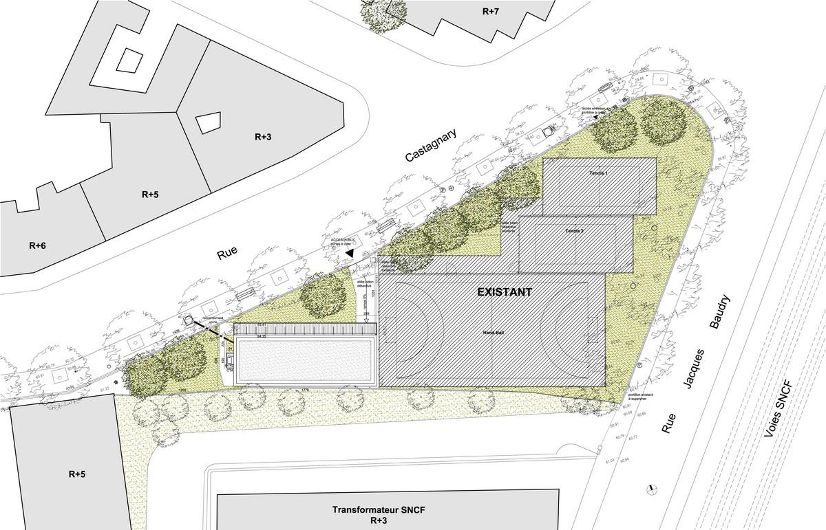 bertrand lefebvre architectures paris conception réalisation réhabilitation batiment bureaux logement urbanisme bachelard exterieur vue