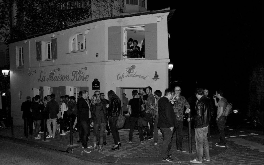 Restaurant la Maison Rose à Montmartre