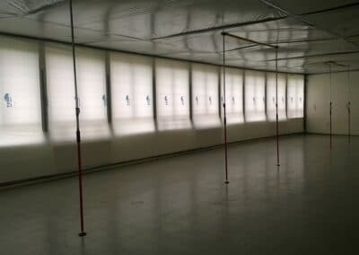 AMÉNAGEMENT D'UN BÂTIMENT ET RÉHABILITATION CMR LE CORBUSIER À POISSY - Chantier aménagement - Bertrand Lefebvre Architectures