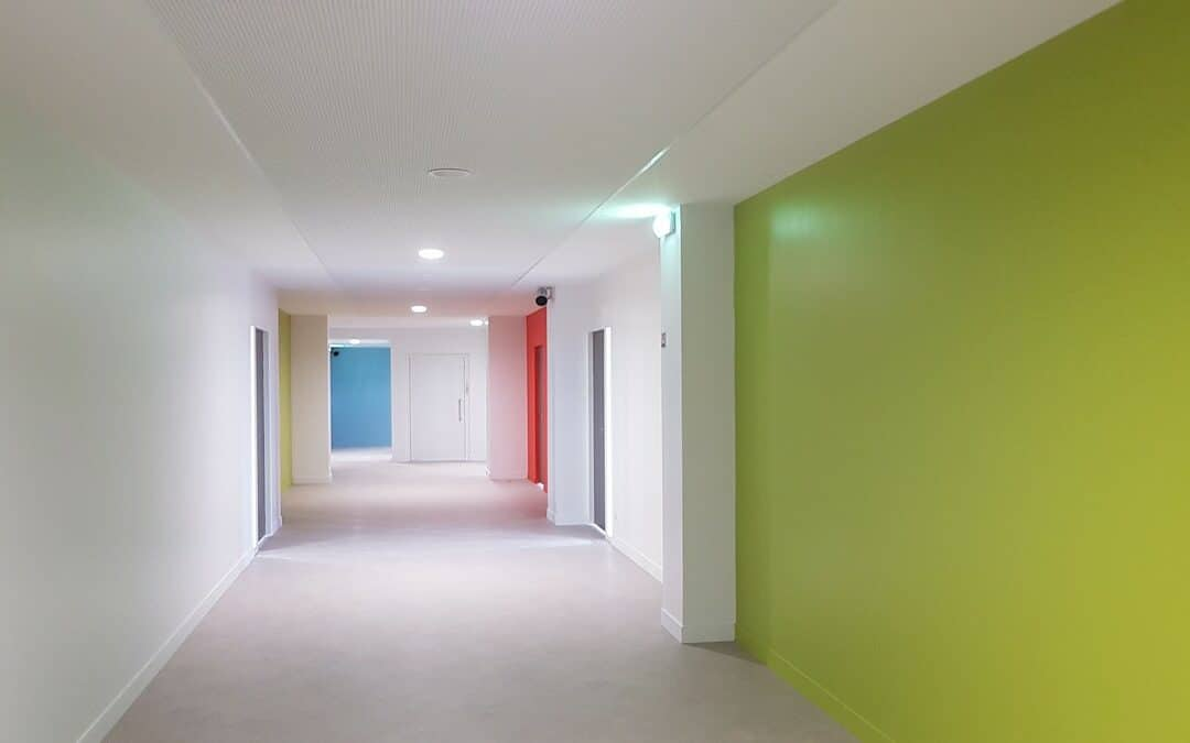 Aménagement d'un bâtiment et réhabilitation CMR le Corbusier à Poissy