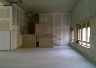 CAISSE D'ALLOCATIONS FAMILIALES DE CHATENAY MALABRY -Chantier aménagement - Bertrand Lefebvre Architectures