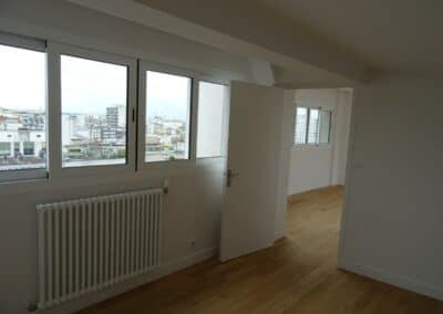 bertrand lefebvre architectures paris conception réalisation réhabilitation batiment bureaux logement urbanisme DUPLEX BOULEVARD DE CHARONNE