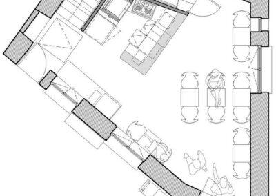 RESTAURANT LA MAISON ROSE À MONTMARTRE -Chantier aménagement - Bertrand Lefebvre Architectures