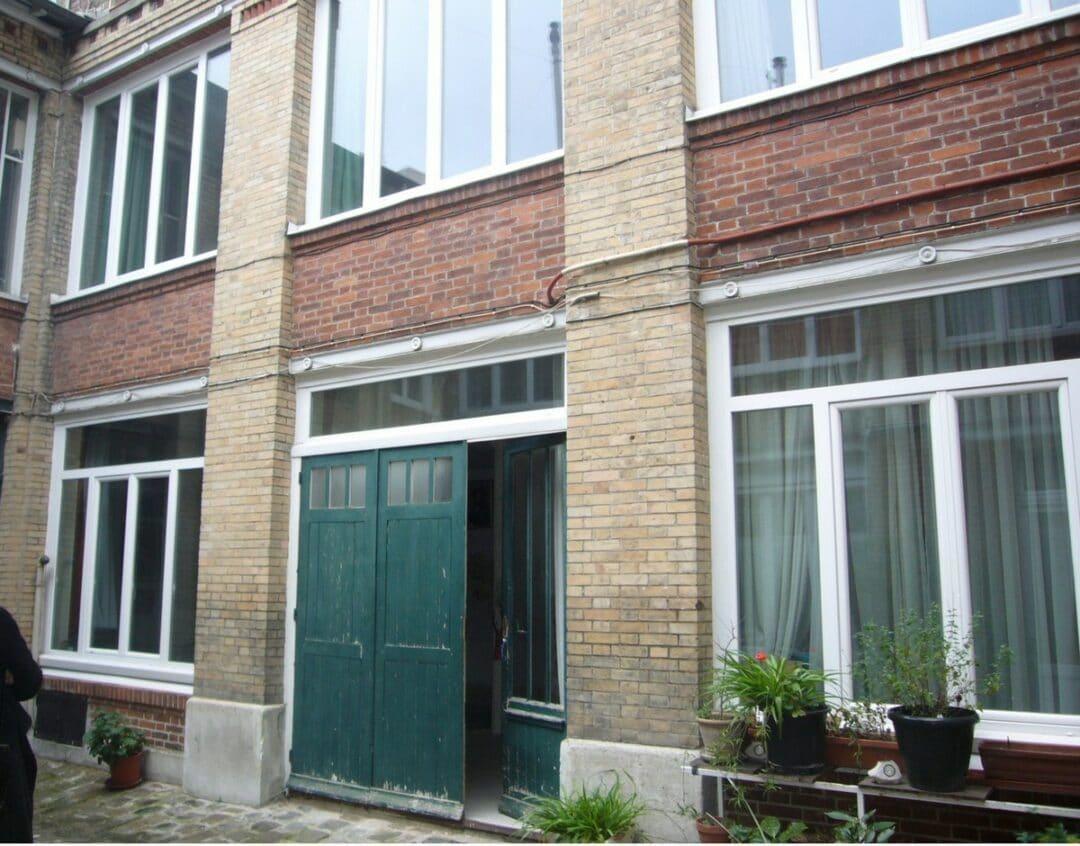 Restructuration d'un bâtiment en 3 logements à Paris 20