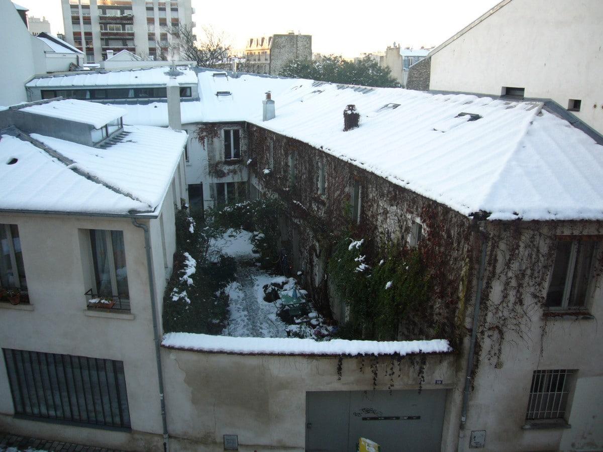 RRéhabilitation de 2 corps de bâtiments Chantier aménagement - Bertrand Lefebvre Architectures - Paris
