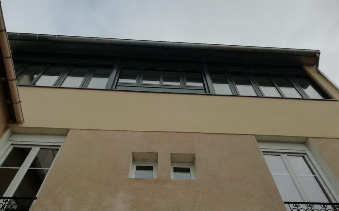 Surélévation d'un logement sur cour à Malakoff
